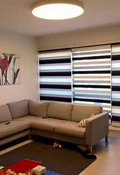Decorative Cordless Window Blinds For Box Canyon House