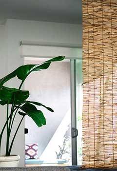 Motorized Bamboo Shades, Artesia