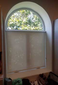 Wi-Fi Motorized Roller Shades For Atwater Village Home Windows