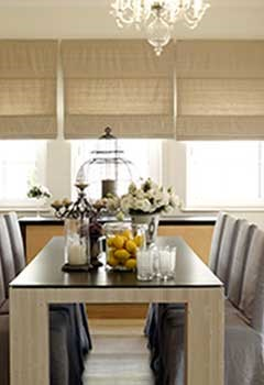 New Roman Shades For Bardsdale Dining Room