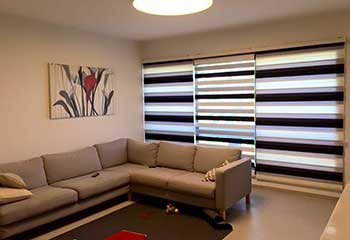 Layered Shades in Westlake Village CA | Master Blinds