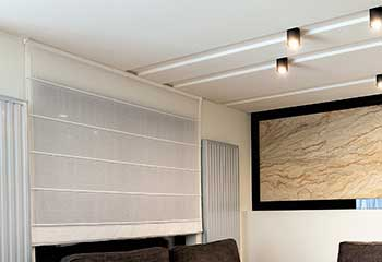 Motorized Roman Shades | Bandini | Master Blinds